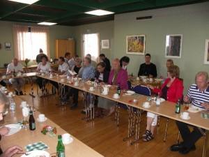 Företagar lunch i konferenslokalen (B-salen)