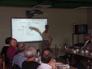 Konferens med Smart Board i (B-salen)